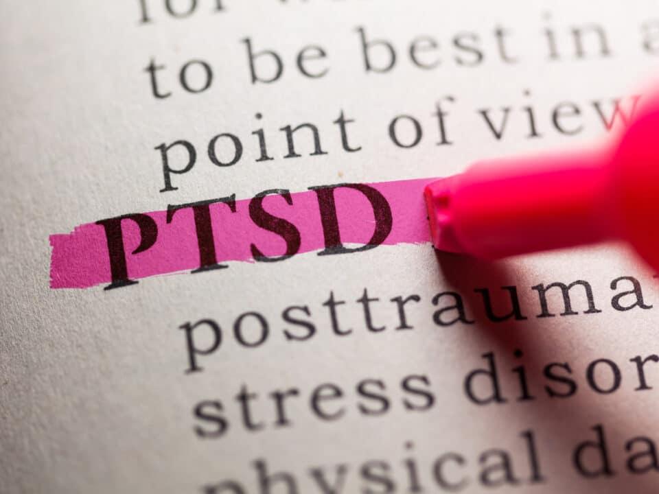 Highlight of PTSD letters